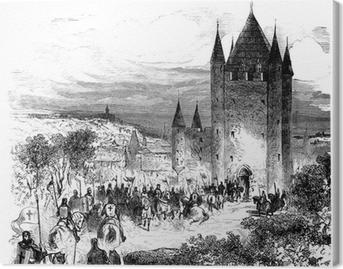 Templars - Templiers Canvas Print