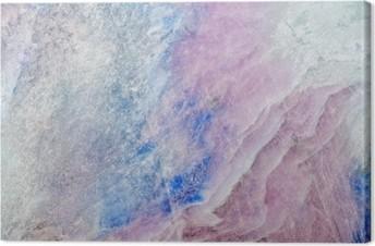 texture of colored charoite stone Canvas Print