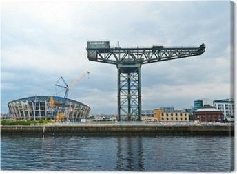 The Finnieston crane - Glasgow Canvas Print