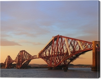 The Forth Rail Bridge Canvas Print