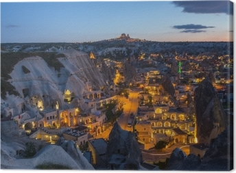 The landscape of Cappadocia , Turkey Canvas Print