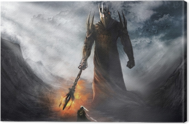 the Lord of the Rings Canvas Print - Criteo