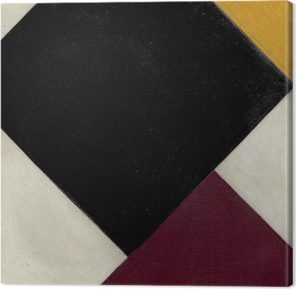 Theo van Doesburg - Counter-Composition XI Canvas Print - Reproductions
