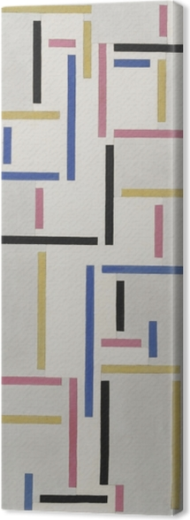 Theo van Doesburg - Rhythm of a Russian Dance Canvas Print - Reproductions