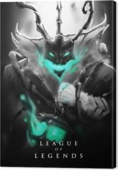 Thresh - League of Legends Canvas Print