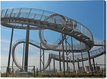 tiger and turtle ruhrpott Canvas Print