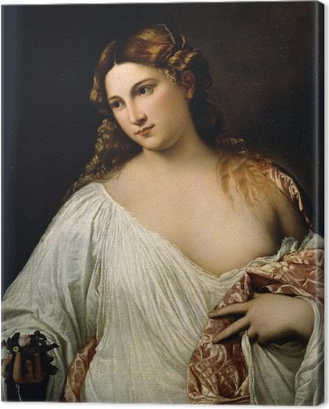Titian - Flora Canvas Print - Reproductions