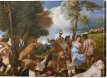 Titian - The Andrians Canvas Print