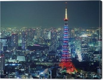 Tokyo city Canvas Print