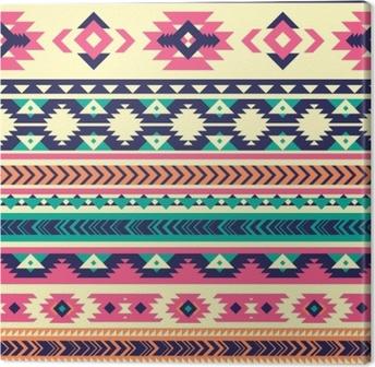 Tribal vector seamless pattern. Aztec abstract geometric art print ...