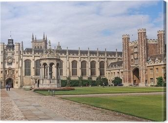 Trinity College, Cambridge University Canvas Print