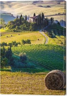 Tuscany, Italian Landscape Canvas Print