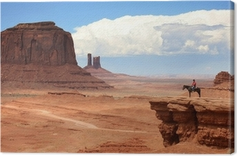 USA - Monument valley Canvas Print