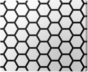 pillow texture seamless. Vector Modern Seamless Geometry Pattern Hexagon, Black And White Honeycomb Abstract Geometric Background, Subtle Pillow Texture A