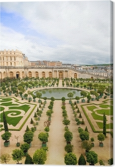 Versailles Garden, France Canvas Print
