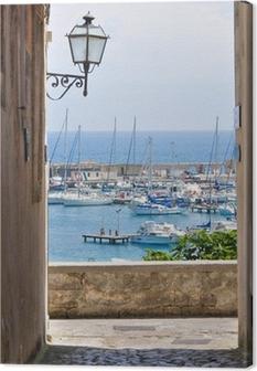View of Otranto. Puglia. Italy. Canvas Print