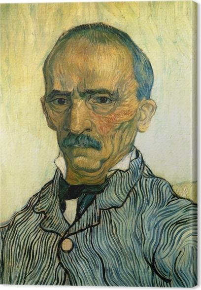 Vincent van Gogh - Portrait of the hospital inspector Paul Canvas Print - Reproductions