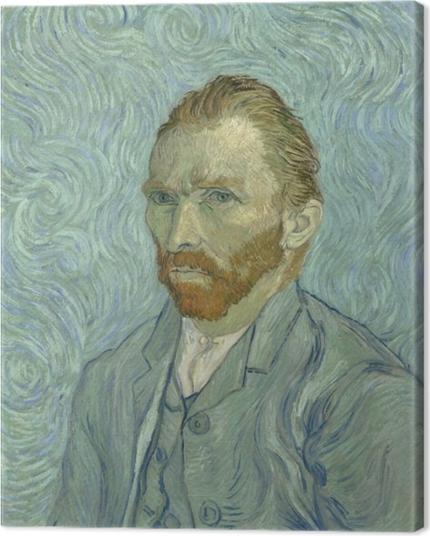 Vincent van Gogh - Self-portrait Canvas Print - Reproductions