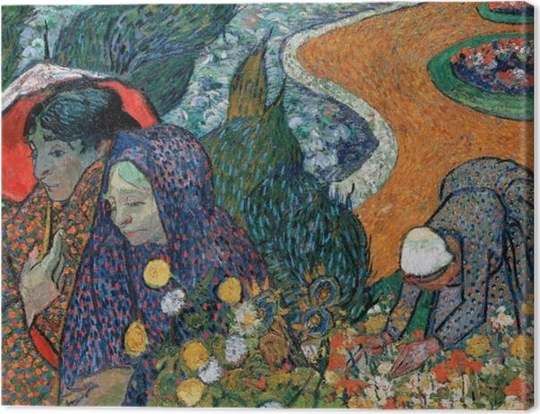 Vincent van Gogh - Souvenir of the Garden in Etten Canvas Print - Reproductions
