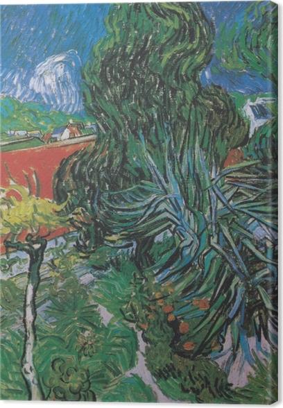 Vincent van Gogh - The Garden of Dr. Gachet in Auvers Canvas Print - Reproductions