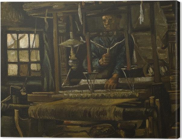 Vincent van Gogh - Weaver Canvas Print - Reproductions