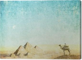 vintage background Canvas Print