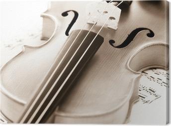 Violine Canvas Print