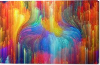 Virtual Color Canvas Print