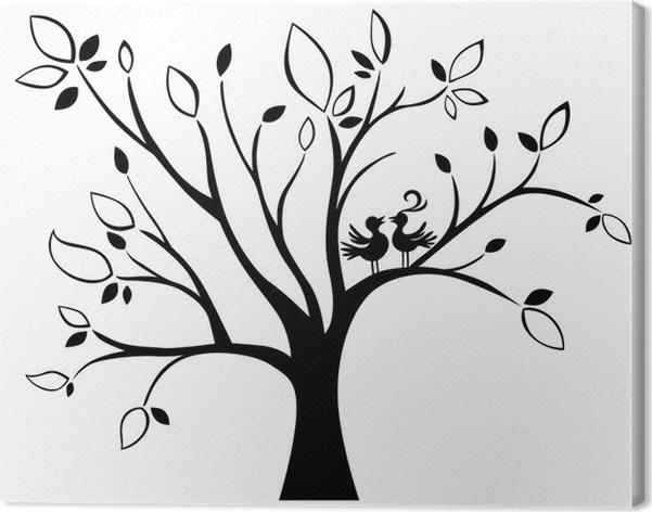 wedding tree canvas print pixers we live to change