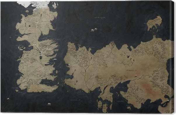 Westeros Canvas Print - Themes