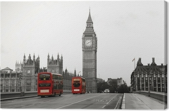 Westminster Palace Canvas Print
