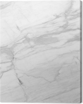 White Marble (High.Res.) Canvas Print