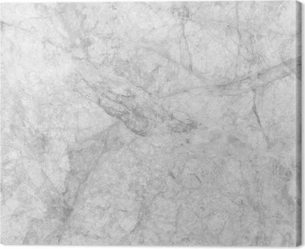 White Marble Texture Background High Resolution Canvas Print