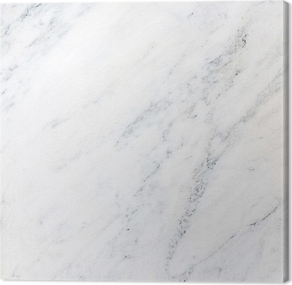 White Marble Texture For Background High Resolution Canvas Print
