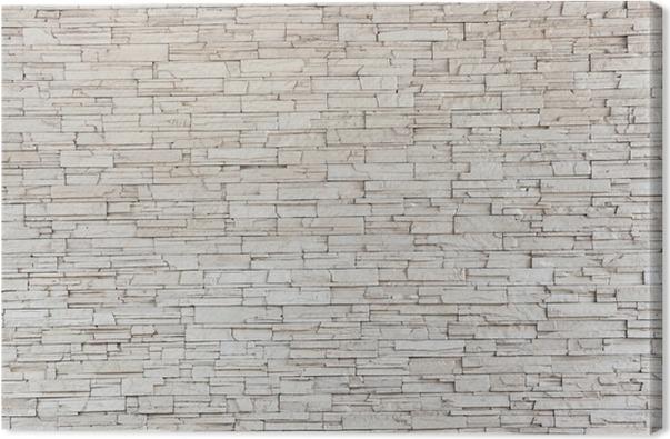 white stone tile texture. White Stone Tile Texture Brick Wall Canvas Print  Pixers We live