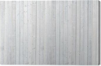 white wood wall Canvas Print