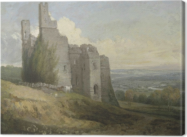 William Turner - Conway Castle Canvas Print - Reproductions