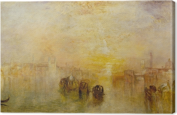 William Turner - Going to the Ball (San Marino) Canvas Print - Reproductions