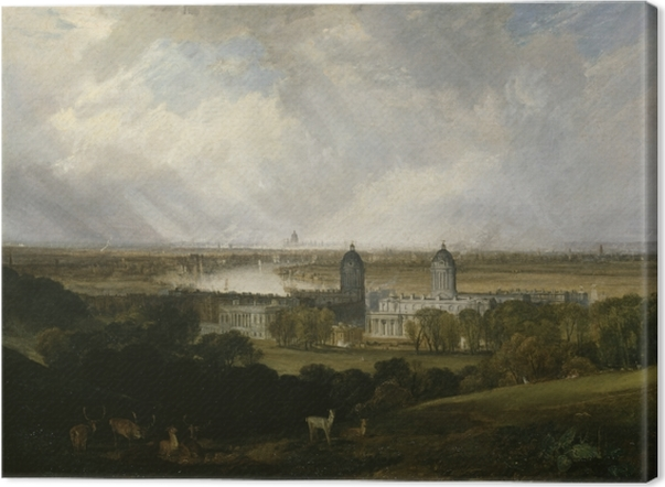 William Turner - London Canvas Print - Reproductions