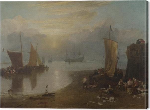 William Turner - Sun Rising through Vapour Canvas Print - Reproductions