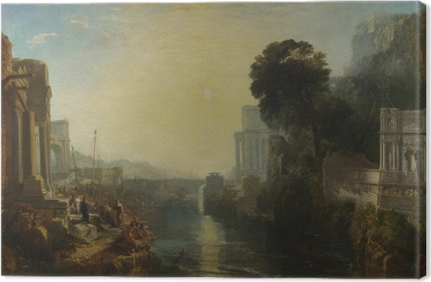 William Turner - The Decline of the Carthaginian Empire Canvas Print - Reproductions