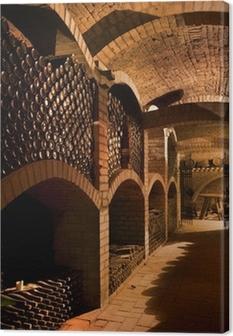 winecellar Canvas Print