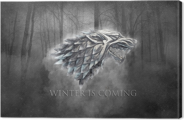 Winter is coming Canvas Print - Themes