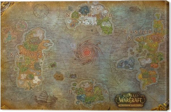 World of Warcraft Canvas Print - Themes