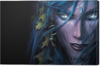 World of Warcraft Canvas Print