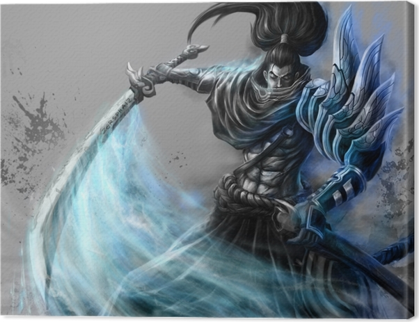 Yasuo - League of Legends Canvas Print - Themes