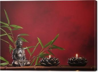 Zen concept Canvas Print