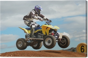 Canvas Quad Bike Racing