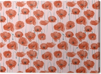 Canvas Red poppies - Nina Ho