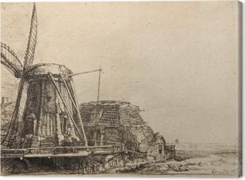 Canvas Rembrandt van Rijn - De molen